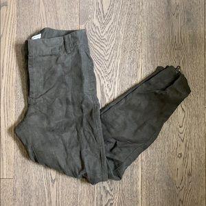 Community linen ankle pants